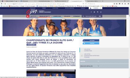 Championnats de France Elite GAM / GAF