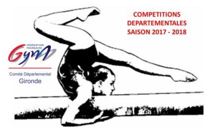 Candidature pour l'organisation d'une compétition départementale pour la saison 2017 – 2018