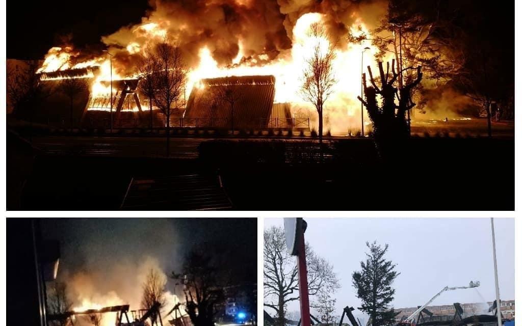 Appel à la solidarité : Incendie de la salle de GYMNASTIQUE du SAM