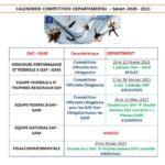 Nouvelles Dates pour les Compétitions Départementales en 2021